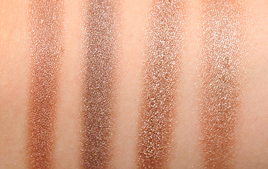 Urban Decay Naked, Naked2, Naked3 Eyeshadow Palette Comparisons