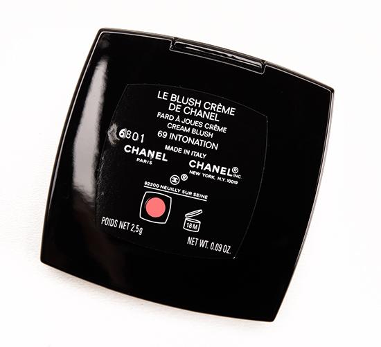 Chanel Intonation (69) Le Blush Creme de Chanel