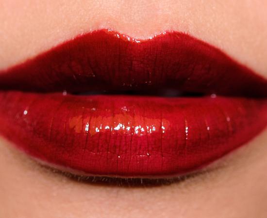 MAC Dark Outsider over Studded Kiss Lipstick Cremesheen Glass