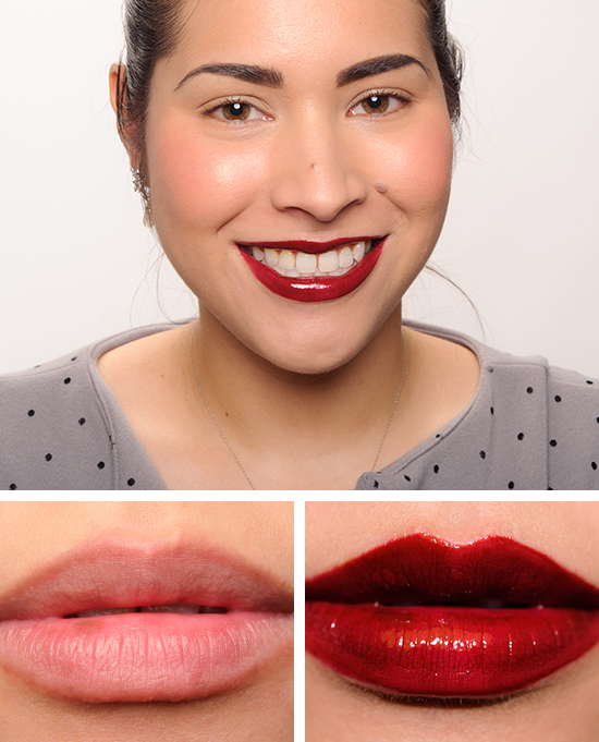 Mac studded kiss lipstick review photos swatches for Mac cosmetics diva lipstick