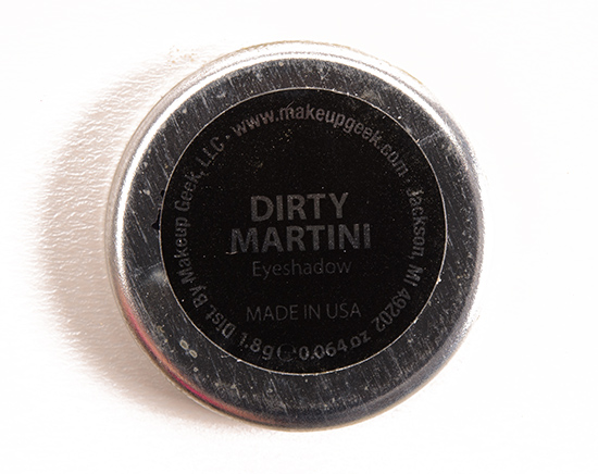 Makeup Geek Dirty Martini Eyeshadow