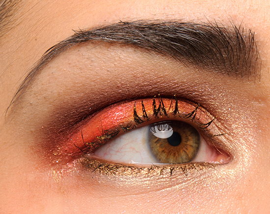 Milani Golden Eyes Sparkling Top Coat Mascara