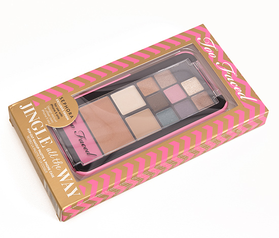 Too Faced Jingle All the Way Makeup Palette