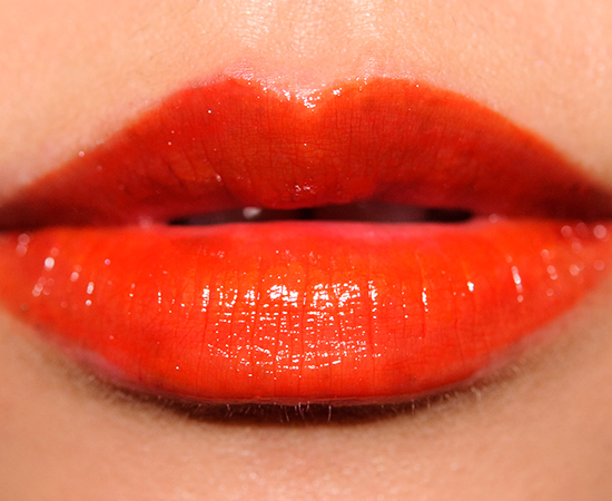 Ysl Orange De Chine 8 Glossy Stain Review Photos Swatches