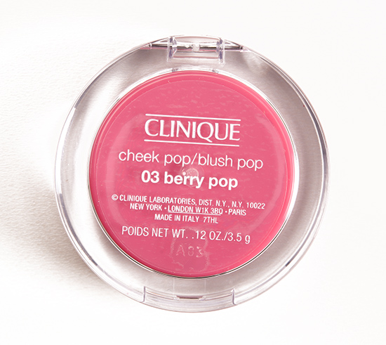 Clinique Berry Pop (03) Cheek Pop Blush
