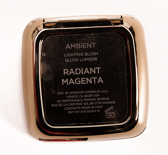 Hourglass Radiant Magenta Ambient Lighting Blush