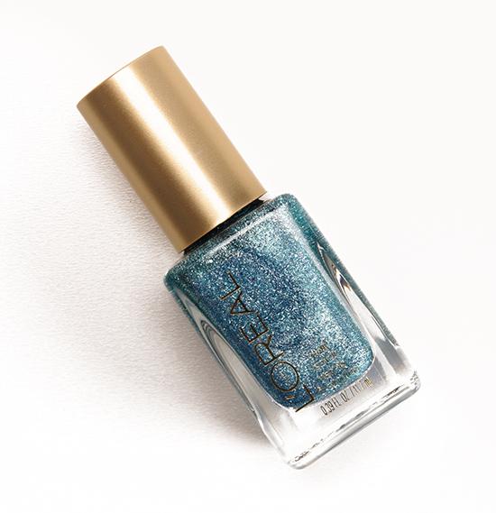 L'Oreal Pop the Bubbles (142) Gold Dust Colour Riche Nail Colour