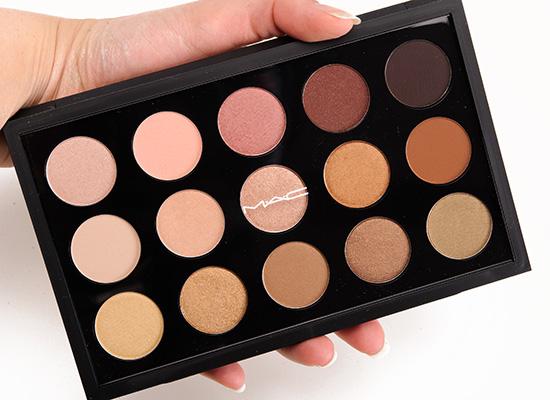 MAC Eyeshadow x 15/Warm Neutral Palette
