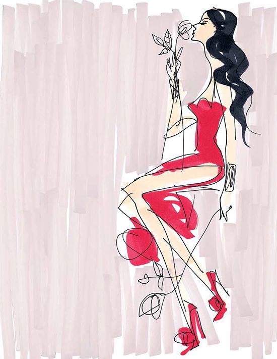 Bobbi Brown x L'Wren Scott Amnesia Rose Collection for Spring 2014
