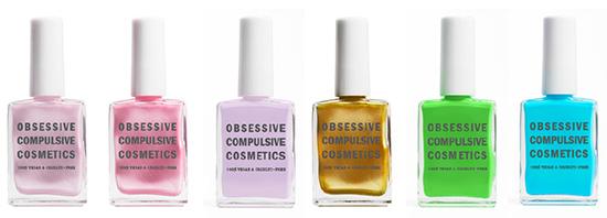 Obsessive Compulsive Cosmetics Plastic Passion Collection for Spring 2014