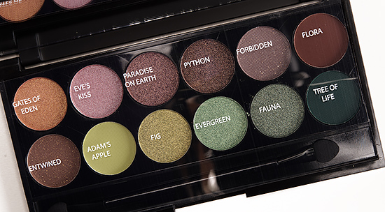 Sleek MakeUP Garden of Eden i-Divine Eyeshadow Palette