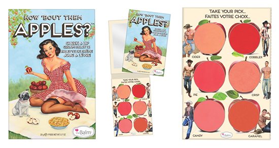 theBalm How 'Bout Them Apples? Palette