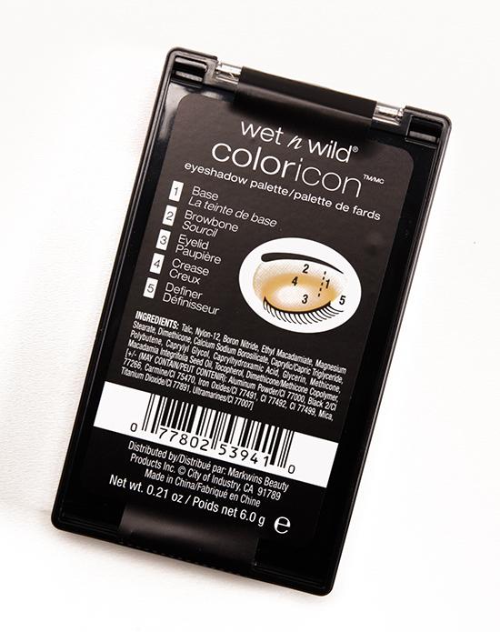 Wet 'n' Wild I'm His Breezey 5-Pan Color Icon Eyeshadow Palette