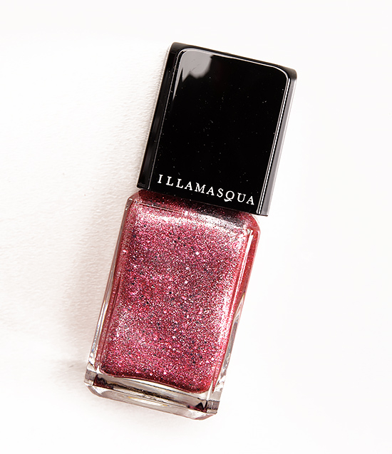 Illamasqua Fire Rose Shattered Star Nail Varnish
