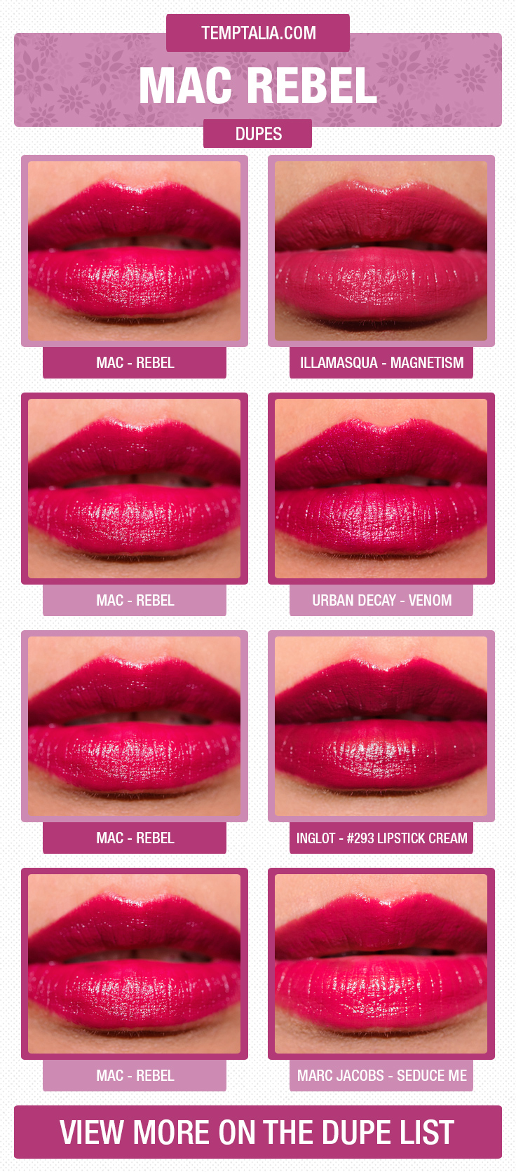 MAC Rebel Dupes