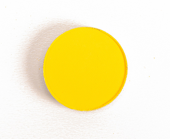 MAC Chrome Yellow Eyeshadow