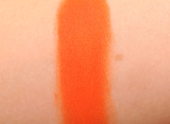 MAC Orange Eyeshadow