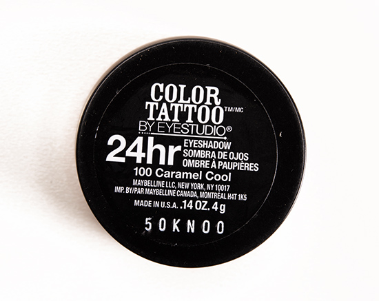 Maybelline Caramel Cool (100) Color Tattoo Eyeshadow