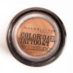 Maybelline Caramel Cool (100) Color Tattoo 24 Hour Eyeshadow
