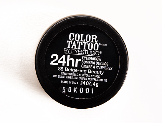 Maybelline Beige-ing Beauty (85) Color Tattoo Eyeshadow