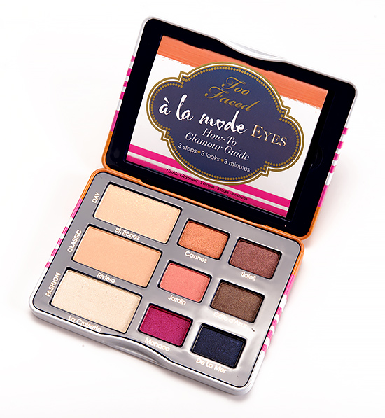 Too Faced A La Mode Eyeshadow Palette
