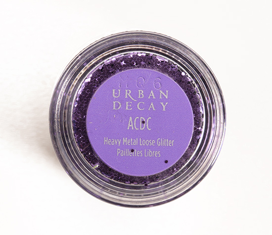 Urban Decay ACDC Heavy Metal Loose Glitter