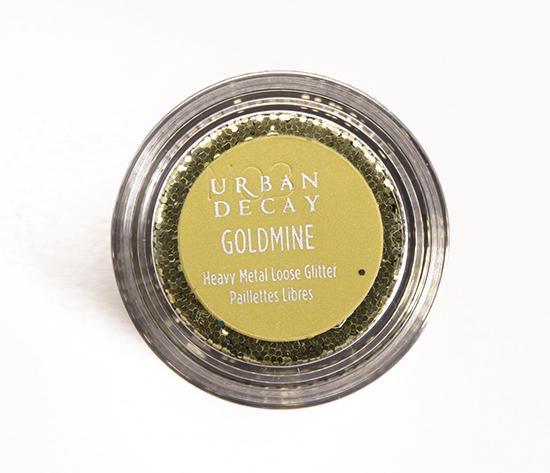 Urban Decay Goldmine Heavy Metal Loose Glitter
