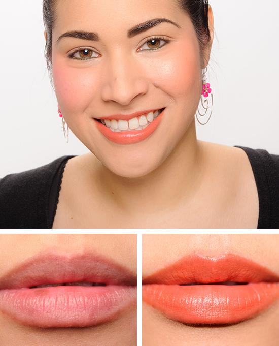 YSL Orange Fougueux (04) Baby Doll Kiss and Blush