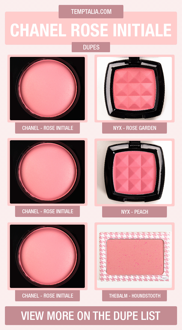 chanel-rose-initiale-dupe-list