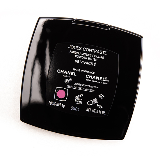 Chanel Vivacite (88) Joues Contraste Blush