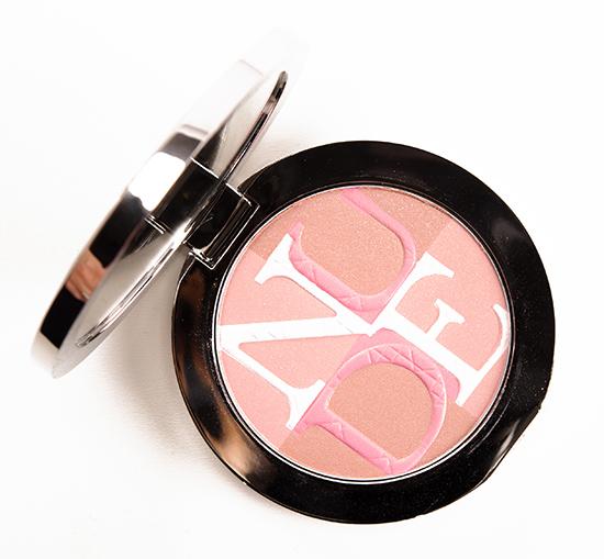 Dior Rose (001) Diorskin Nude Shimmer Instant Illuminating Powder