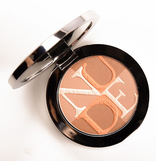 Dior Amber (002) Diorskin Nude Shimmer Instant Illuminating Powder