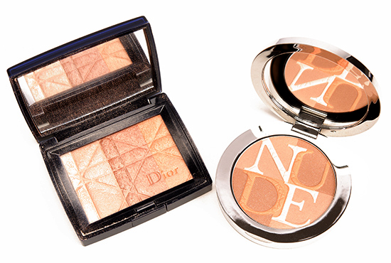 Dior Amber (002) Diorskin Nude Shimmer Instant Illuminating Powder
