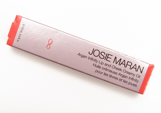 Josie Maran Timeless Coral Argan Infinity Lip and Cheek Creamy Oil