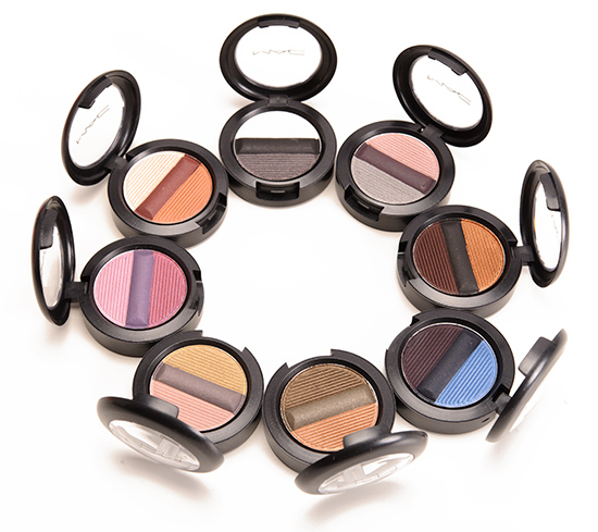 MAC Studio Sculpt Shade & Line Eyeshadows