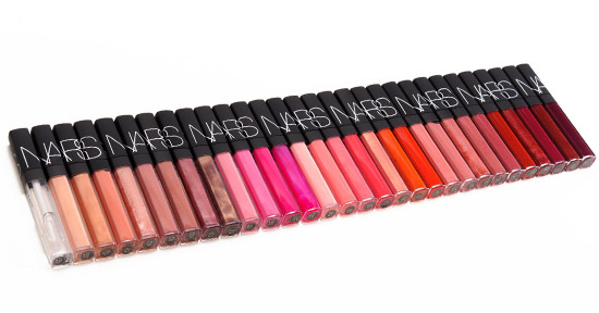 Round-up: NARS Lipglosses (2014 Reformulation) Overview ...