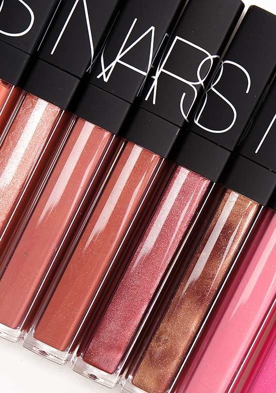 NARS Lipgloss – Sweet Dreams, Belize, Stolen Kisses, Risky Business, Supervixen, Istria