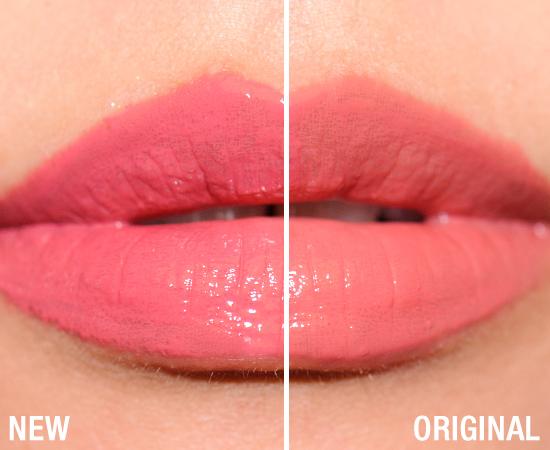 NARS Lipgloss Comparisons - Original vs. Reformulated  NARS Lipgloss C...