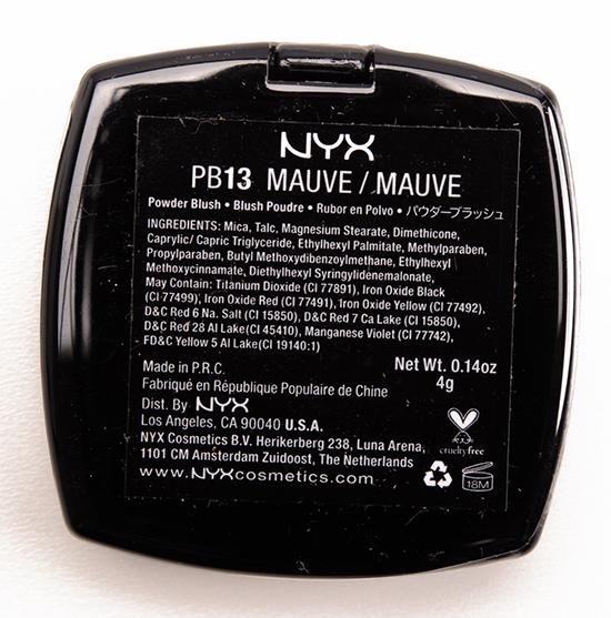 NYX Mauve Blush