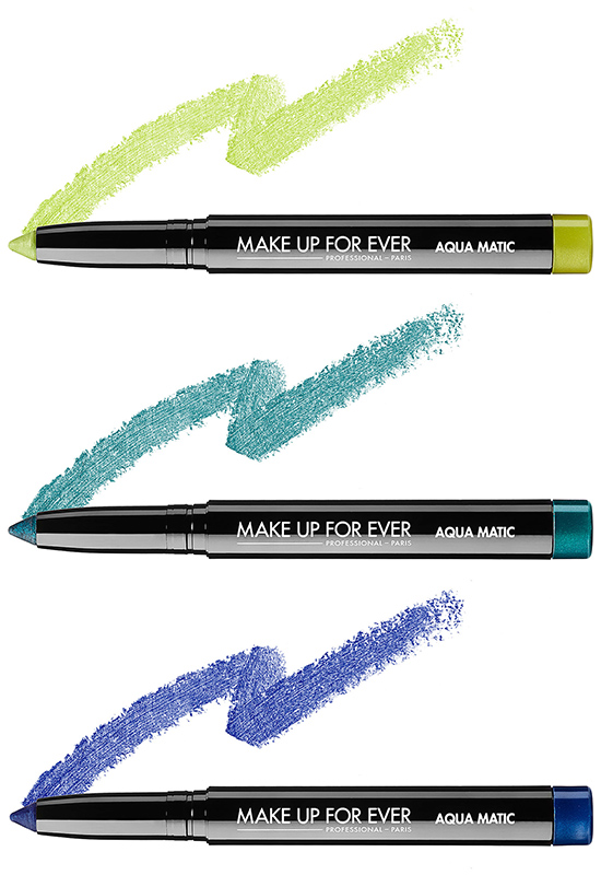 Make Up For Ever Aqua Matic Launches