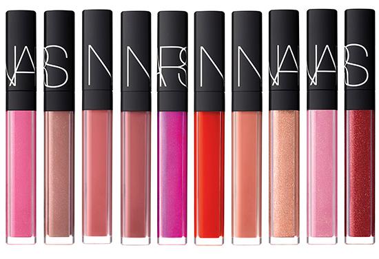 NARS Lipgloss Relaunch (Summer 2014)