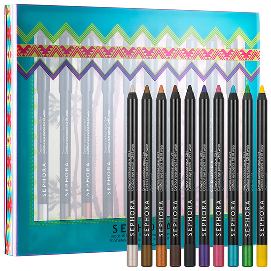Sephora 10 Shades of Samba Eyeliner Set for Summer 2014