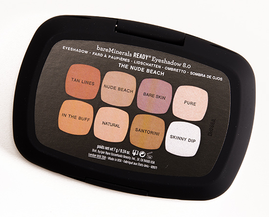 bareMinerals The Nude Beach Eyeshadow Palette