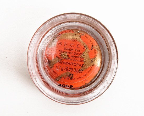 Becca Papaya/Topaz Beach Tint Shimmer Souffle