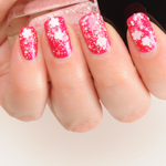 Formula X Cherry Blossom Glitter Top Coat