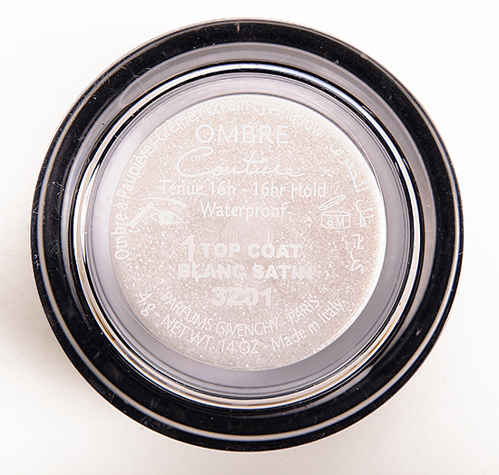 Givenchy Blanc Satin (1) Ombre Couture Cream Eyeshadow