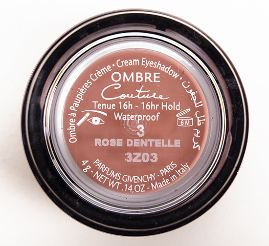 Givenchy Rose Dentelle (3) Ombre Couture Cream Eyeshadow