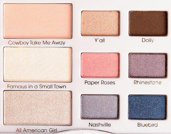 Too Faced Country Nashville Nudes Eyeshadow Palette