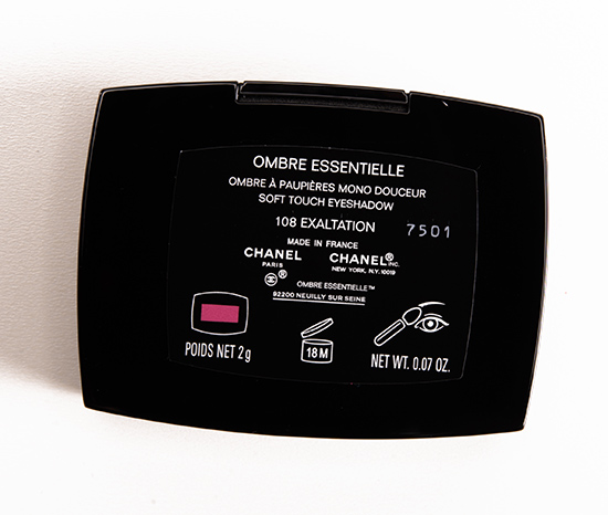 Chanel Exaltation (108) Soft Touch Eyeshadow