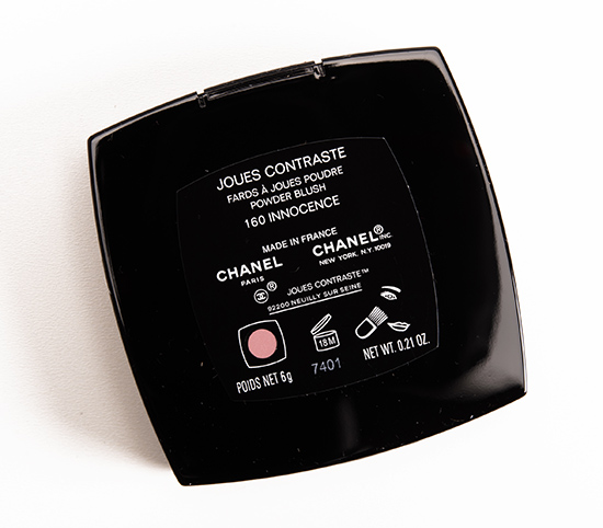 Chanel Innocence (160) Joues Contraste Powder Blush